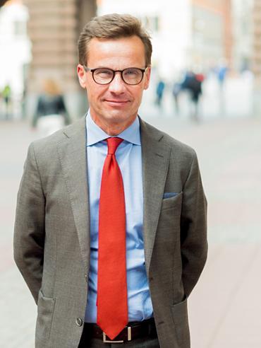 Porträtt av Ulf Kristersson